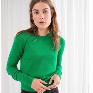 & Other Stories women's  sz small green sweater